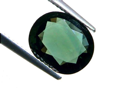 Sapphire can also be found in shades of green.