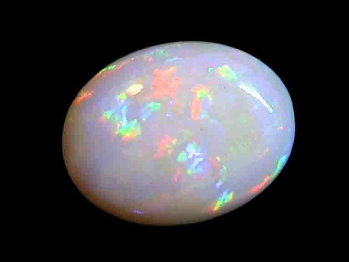 White Opal Gem stone sale price & Information about Australian ...